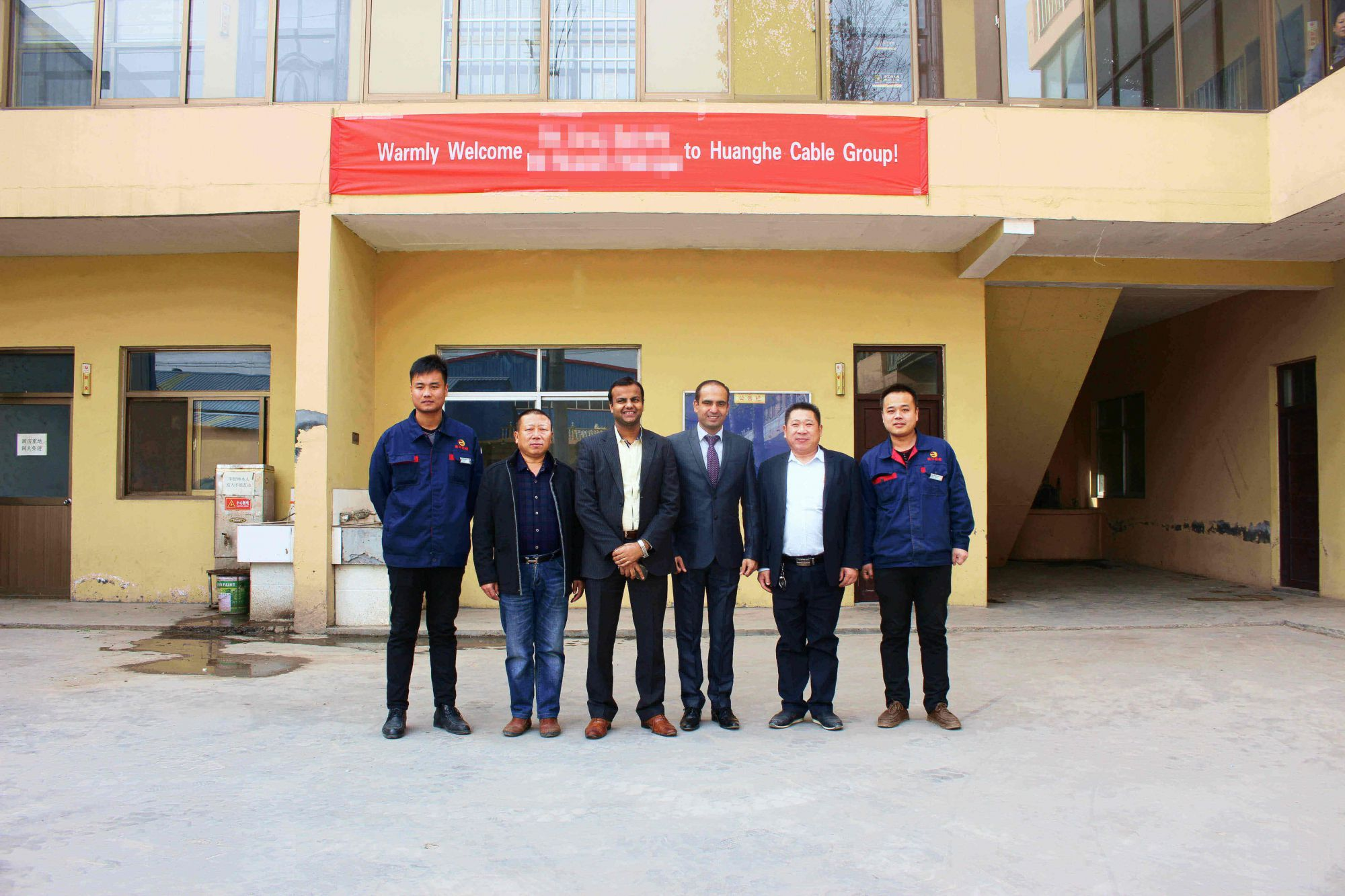 India Customers Visiting Factory