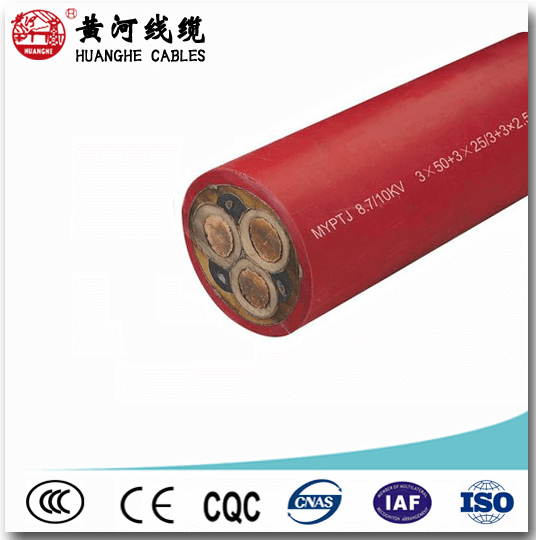 shielded rubber cable